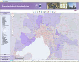 Australian Catholic Mapping Online